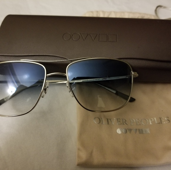 f746f9adccb Oliver Peoples Schaefer Aviator Sunglasses. M 5bc420ccf63eea6f0d9f0524